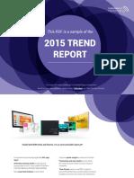 2015 Trend report