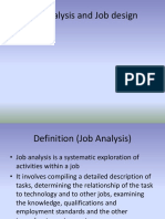 Job Analysis and Job Design2