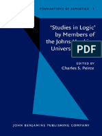 (Foundations of Semiotics 1) Charles S. Peirce (ed.) - 'Studies in Logic' by Members of the Johns Hopkins University (1883)-John Benjamins Publishing Company (1983).pdf