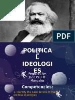 Lesson 2 - Political Ideologies