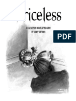 Priceless - Live Action Roleplaying Game