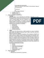 Define social processes and explain their characteristics.docx