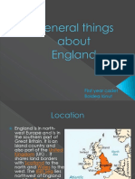 General Things About England