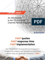 An Introduction to the TELEHOUSE Channel Partner Program