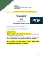 Memo d'Aide Aux Textes Pour Concours Agb Ads 2019 22.01.19