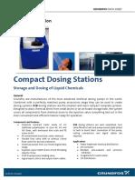Grundfos DSB Dosing Station Data Sheet