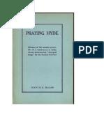 Praying Hide