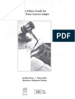 Guide for Part-Time Lawyer Judges