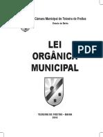 Lei Orgânica Municipal 2016