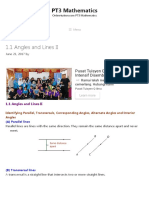 1.1 Angles and Lines II - PT3 Mathematics