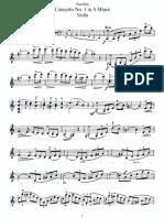 accolay violin concerto a minor