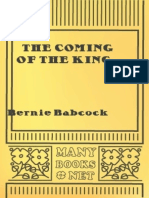 The Coming of the King - Bernie Babcock