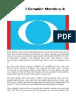 Krisis PKR Semakin Membusuk