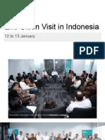Eric Olsen Visit in Indonesia 20160119.Pptx