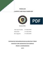 MAKALAH PALIATIF CARE PADA PASIEN HIV 1.docx