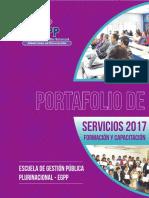 Portafolio Servicios 2017
