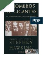 A hombros de gigantes - Stephen W. Hawking.pdf