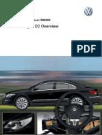 Service Training. Self Study Program 895803. Volkswagen CC Overview.