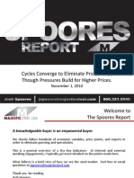 The Spoores Report - November 1-2010