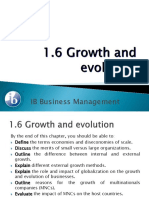 1.6 Growth and Evolution (2)