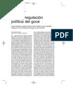 Germán García - No Hay Regulación Política Del Goce