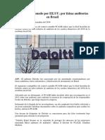 Auditoria Administrativa - Deloitte Sancionado Por EE