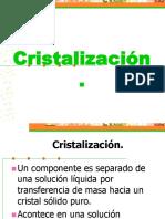 Cristalizacion Del Azúcar