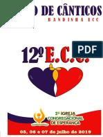 Livro de Cânticos 12 ECC