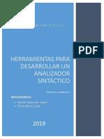 HERRAMIENTAS para analizador sintactico