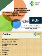 Kebijakan & Stategi P2PTM TOT PANDU   PTM-Bogor.ppt