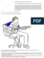 Beginner Guitar Lesson 3 _ Posture, Holding the Guitar and Holding the Pick - 8notes