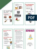 Leaflet Gizi Balita