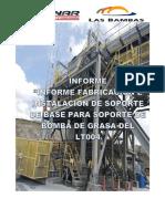 Informe de Instalacion de Soporte