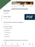 Examen - Gerencia