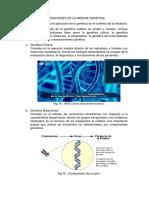 Aplicaciones de La Medina Genetica y Diagnostico