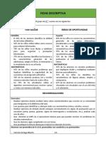 Ficha Descriptiva Grupo II