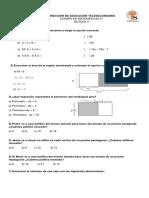 Examen Matematicas II Segundo Bloque