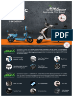 E-scooter features