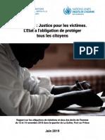 Minujusth - Rapport Massacre La Saline par le regime Tet Kale PHTK