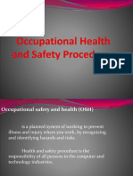 LESSON 2 - G9 Occupational Health and Safety Procedures