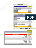 Semana 11 Ejercicio No 4 Flujo de Caja Aguaymanto 2014-2