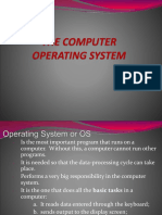 Lesson 5-1 - The Computer Operating Ssytem