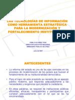 3.2 Juan Pablo Glasinovic (Chile)
