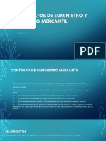 Grupo 9 Contratos de Suministro y Deposito Mercantil