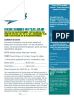 viking summer football camp  new flyer 2019