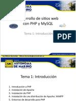 PHP TEMA 1 Introduccion