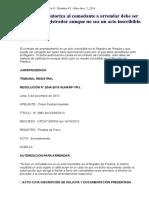 Contrato Que Autoriza Al Comodante a Arrendar Debe Ser Calificado Porregistrador Aunque No Sea Un Acto Inscribible.