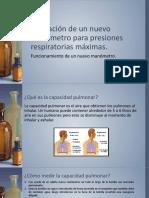Valoración de un nuevo manómetro para presiones respiratorias.pptx