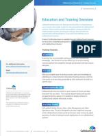 CallidusCloud Training Overview Brochure