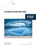 Support Initiation AutoCAD 2005